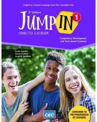 Jump In Sec. 1 - Content Workbook 3rd Ed. with Interactive Activities, print version (no 219840) - ISBN 9782761782142