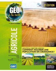 Géo à la carte-sec.2 - Ensemble B (incluant les exercices interactifs), 2e Éd., version papier + Accès étudiants, Web 1 an (no 220029) - ISBN 9782761796736