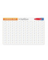 Learning Mat - Tableau effaçable des additions - M&D