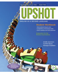 Upshot - sec.4 - COMBO - Printed AND digital Student Workbook + interactive workshops for 1 year - ISBN 9998201610931