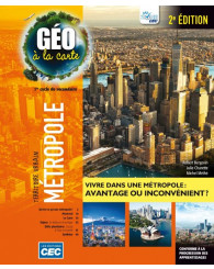 Géo à la carte-sec.1 - Ensemble A (incluant les exercices interactifs), 2e Éd., version papier + Accès étudiants, Web 1 an (no 220024) - ISBN 9782761796668