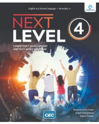 Next Level - sec. 4 - Workbook (with Interactive Activities), print version + Students access, web 1 year (no 219999) - ISBN 9782766200429